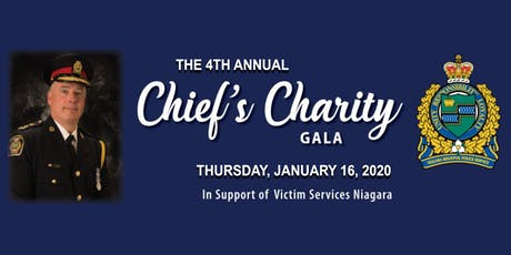 The 4th Annual Chief's Charity Gala tickets