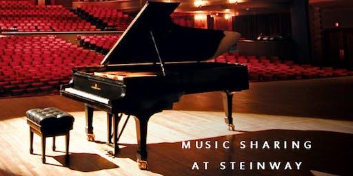Music Sharing at Steinway- Christmas Edition!