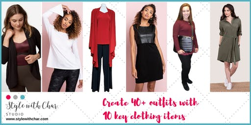 Create 40+ outfits with 10 key clothing items  - Workshop