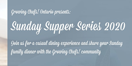 Sunday Supper Series - April Adult Ticket tickets