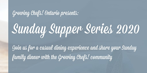 Sunday Supper Series - January Adult Ticket