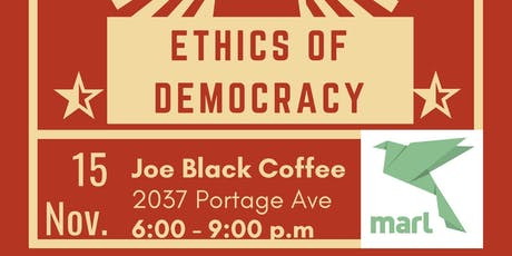 Ethics Café  Presents: The Ethics of Democracy tickets