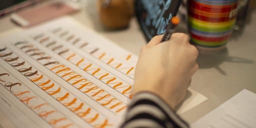 HandLettering Workshop für Anfänger: die Basics