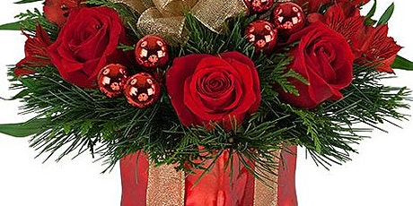 Christmas Flower Arranging Workshop tickets
