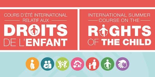 Cours d'été international relatif aux droits de l'enfant 2020