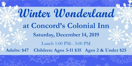 Winter Wonderland Lunch at  Concord's Colonial Inn tickets