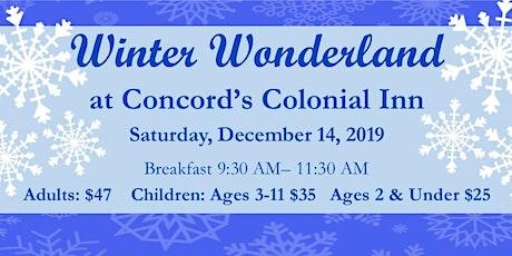 Winter Wonderland Breakfast at  Concord's Colonial Inn tickets