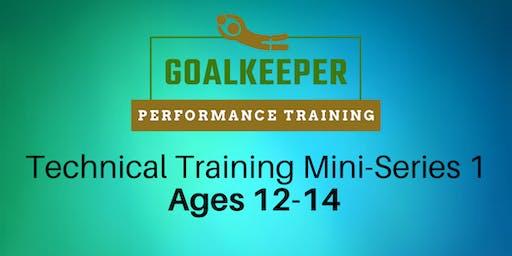GKPT Technical Mini-Series 1 (November & December) Ages 12-14