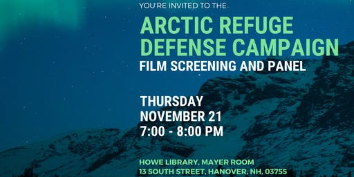 Arctic Refuge Defense Campaign: Film Screening and Panel