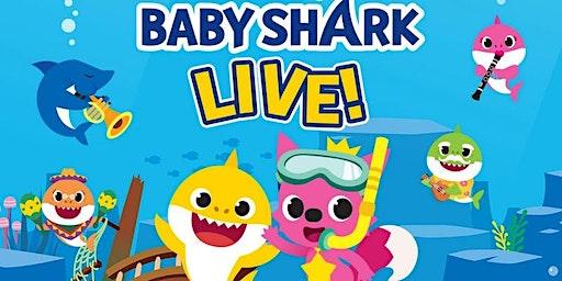 """DESCONTO! Espetáculo Oficial """"Baby Shark Live"""" no Tom Brasil"""