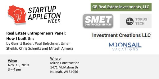 The Real Estate Entrepreneurs Panel: How I built this