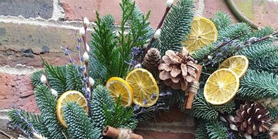 Sir Winston's Festive Wreath Workshop | English Sparkling Wine & Cream Tea