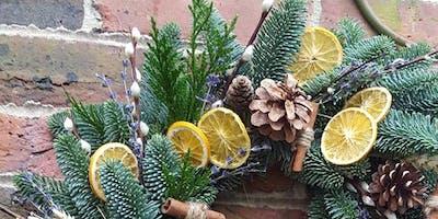 Sir Winston's Festive Wreath Workshop   English Sparkling Wine & Cream Tea