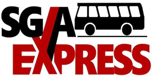 SGA Express+ Bus to Philadelphia