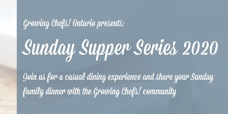 Sunday Supper Series - January Kid's Ticket tickets