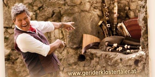 Geri der Klostertaler, inkl. Essensgutschein 5€ und Getränkegutschein 10€