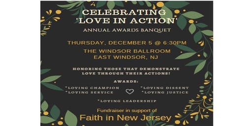 'LOVE IN ACTION' Awards Banquet