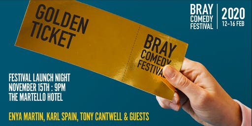 Bray Comedy Festival 2020 - LAUNCH NIGHT