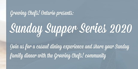 Sunday Supper Series - 5 Pack Ticket tickets