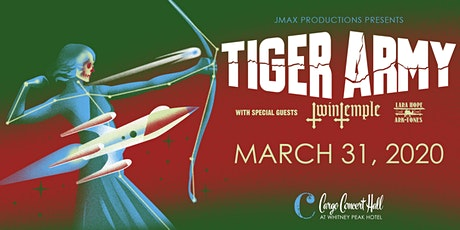 Tiger Army - Retrofuture Tour 2020 at Cargo Concert Hall tickets