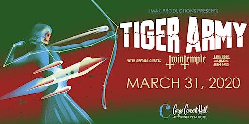 Tiger Army - Retrofuture Tour 2020 at Cargo Concert Hall
