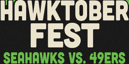 SurreyEats Hawktoberfest Party - Seahawks VS 49ers