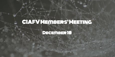 CIAFV  December Members' Meeting - Resource Fair tickets
