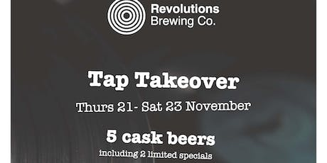 Revolutions Brewing Co. Takeover @ The Snooty Fox tickets