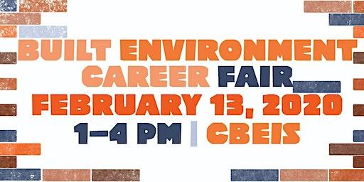2020 Built Environment Career Fair (Student/Alumni Registration)