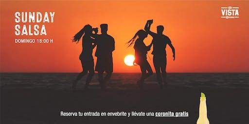 SUNDAY SALSA - Vista Corona La Barceloneta