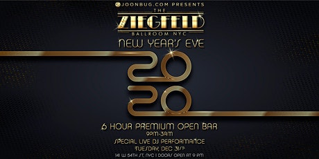 Ziegfeld Ballroom Presents The Winterwonderland New Years Eve 2020 Party tickets