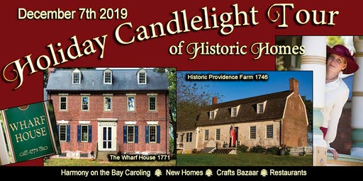 Queen Anne's County Holiday Candlelight Tour 2019