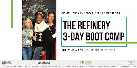 The Refinery 3-Day Business Boot Camp tickets