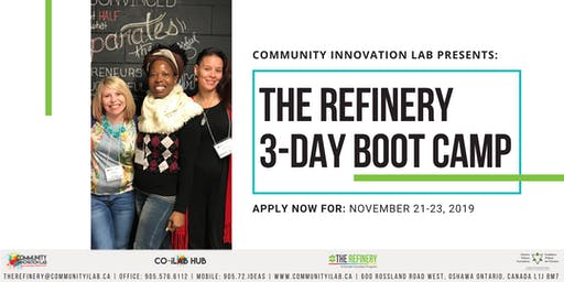 The Refinery 3-Day Business Boot Camp