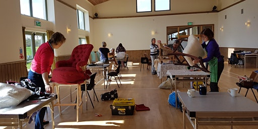 Sue Macnab's Madderty Afternoon Upholstery Class
