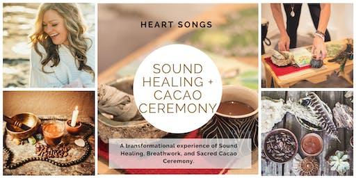 Sound Healing & Sacred Cacao Ceremony