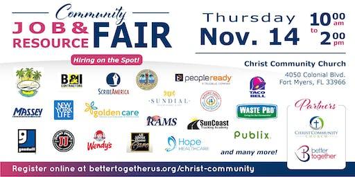 Fort Myers Area Job Fair