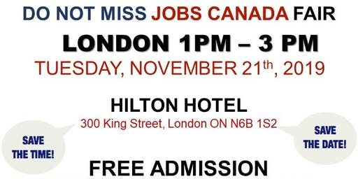 London Job Fair - November 21st, 2019