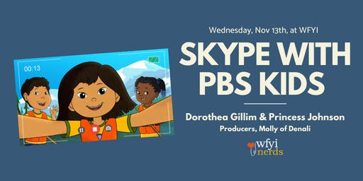 Skype with PBS Kids