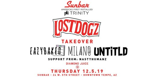 Lost Dogz Off the Chain Tour: Eazybaked, Milano & UNTITLD