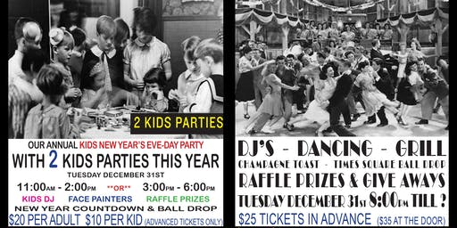 Pilsener Haus Kid's New Year's Eve-Day Party