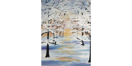 "Mimosa Class: ""Morning Snow"" - Saturday, Dec. 21st, 11:30AM, $27"