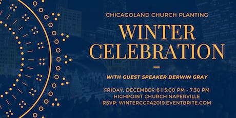 Chicagoland Church Planting Winter Celebration! tickets