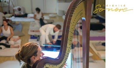 Massage Shiatsu et harpe billets