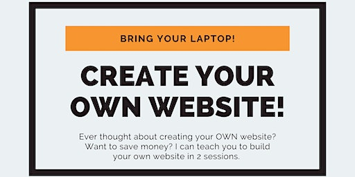 Design Your Own Website and SAVE!