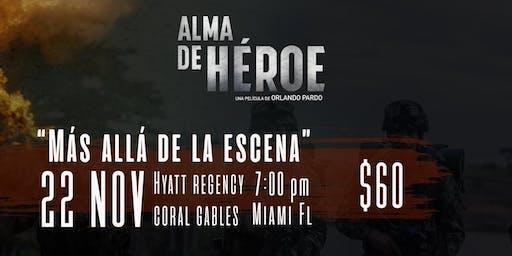 RECEPCION CON LAS ESTRELLAS DE ALMA DE HEROE