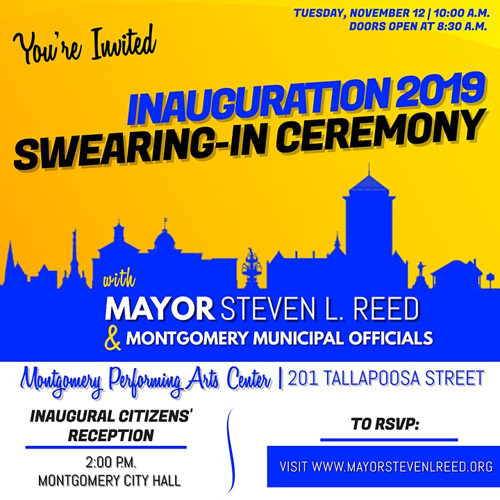 Reed Inauguration: Swearing In Ceremony - Montgomery Performing Arts Centre image