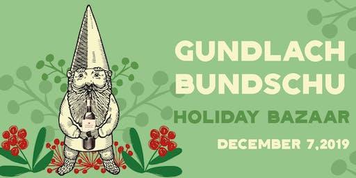 Gundlach Bundschu Holiday Bazaar
