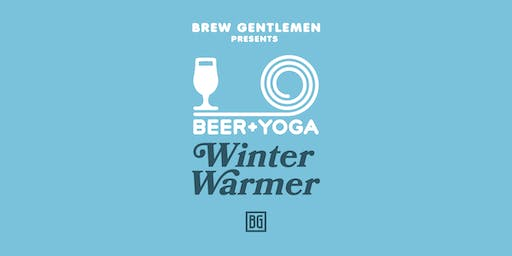 Beer + Yoga: Winter Warmer