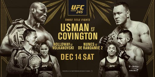 UFC 245: Usman vs. Covington at Red Bar and Lounge